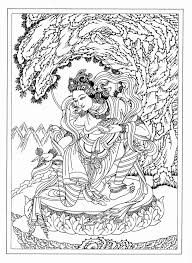 21 Best Tibetan Buddhism Art Symbols Ritual Images On Buddhist Coloring Pages