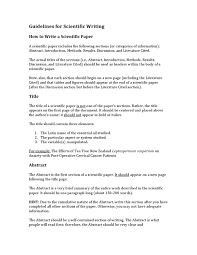 how to write paper abstract guidelines for scientific writing by american college of guidelines for scientific writing by american college of healthcare sciences issuu