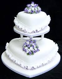 heart wedding cake purple flower heart wedding cake wedding cake cake ideas intended