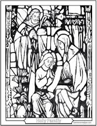 15 printable christmas coloring pages jesus u0026 mary nativity
