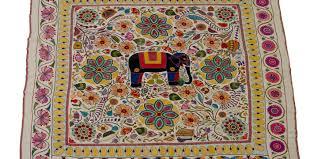nakshi kantha nakshi kantha or embroidered quilt bangladesh maas collection