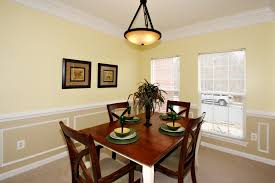 dining room molding ideas dining rooms and kitchens dominion homes dominion homes