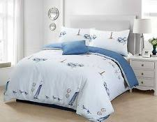 nautical bedding sets and duvet covers ebay