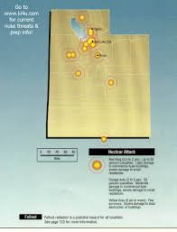 Orem Utah Map by Nuclear War Fallout Shelter Survival Info For Utah With Fema