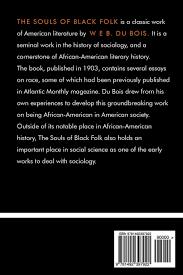 amazon com the souls of black folk 9781492397922 w e b du