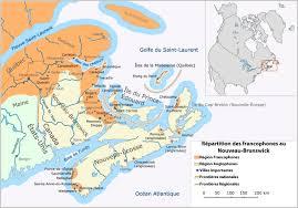 St Joseph River Map File Les Francophones Du Nouveau Brunswick Jpg Wikimedia Commons
