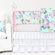 Pastel Crib Bedding Pastel Crib Bedding Soft Color Baby Bedding Caden