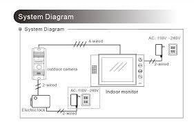 new 9 inch screen color lcd video door phone intercom video