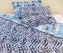 indigo shibori bedding from the exclusive home decor and home