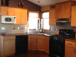 How Do You Stain Kitchen Cabinets Help Choosing Between New Backsplash Or Re Stain Kitchen Cabinets