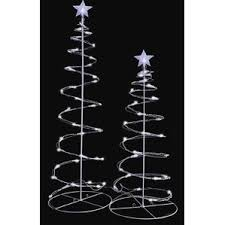 white tree outdoor decorations you ll wayfair