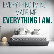 kanye west wall sticker everything i m not wall art