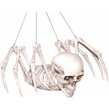 halloween decorations skeleton skeleton spider halloween decoration trick or treat scary house