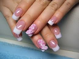 baby pink with silver as opposed to those nail designs glitter