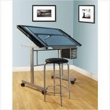 Drafting Table Vinyl Offex 24 X 42 Rectangular Walnut Brown Laminate Table Set
