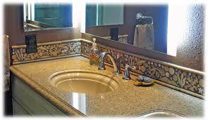 Bathroom Tile Backsplash Style Gorgeous Mosaic Work With Design - Tile backsplash bathroom