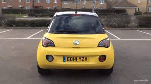 vauxhall yellow vauxhall adam slam yellow 2014 youtube