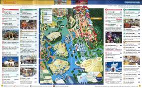 Disney Maps Tokyo Disney Resort Maps And Story Papers