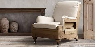 Restoration Hardware Armchair Deconstructed Seating Rh