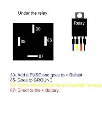 help rewiring hid u0027s new harness h4 wiring diagram help club3g