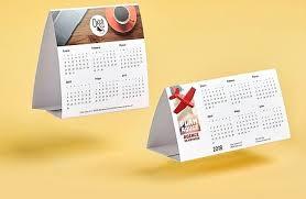 chevalet de bureau personnalisé calendrier personnalisé camaloon