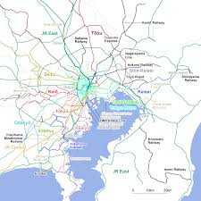 greater tokyo rail network the global issue