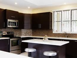 white backsplash dark cabinets backsplash ideas for dark cabinets and dark countertops dark