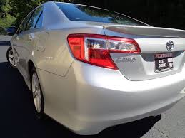 2012 used toyota camry 4dr sedan i4 automatic se at platinum used