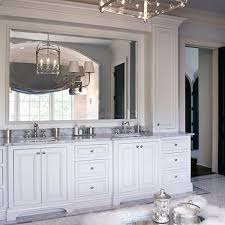 Luxurious Master Bathroom Design Ideas - White cabinets master bathroom