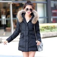 2016 new winter coat female korean fashion hooded cape fur collar
