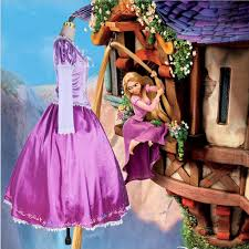aliexpress com buy rapunzel cosplay costume princess