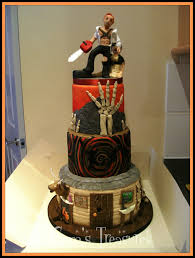 Halloween Wedding Cake by Evil Dead Halloween Wedding Cake Gertygetsgangster U2013 External Brain