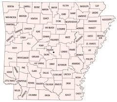 map of arkansas map of arkansas counties