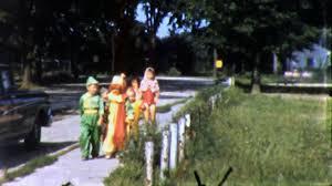 boys children halloween costumes kids trick 1950s vintage film
