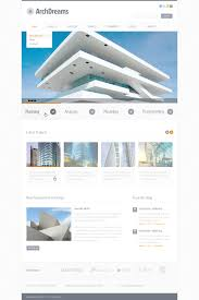 website template 57387 arch dreams architect custom design