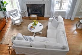 Ikea Slipcovered Sofa by Ikea Ektorp Sectional 1 Year Review U0026 Cleaning Tips The Home I