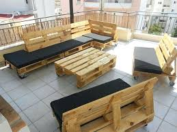 Outdoor Furniture Made From Pallets by Outdoor Furniture Made Out Of Wood Pallets How To Make Outdoor