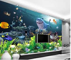 online get cheap shark murals aliexpress com alibaba group