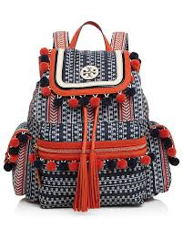 tory burch scout pom pom backpack bloomingdale u0027s