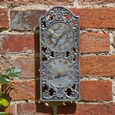 radio controlled garden wall clocks in stock now greenfingers com