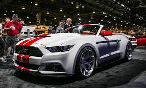 sema 2015 mustang seven would be few ford showing 8 modified mustangs at sema