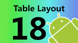 xamarin android table layout android table layout youtube
