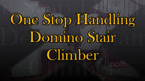 Rotating Stair Machine by One Stop Handling Domino Stair Climber Youtube