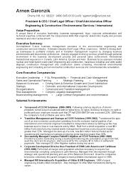P L Responsibility Resume Download President Vp Engineering Environmental Construction In