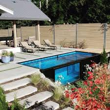 small yard pool pools for small yards popsugar home