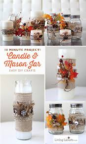 10 minute project how to make candle and jar crafts for