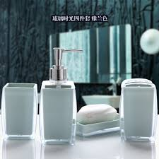 Bathroom Set Compare Prices On Acrylic Bathroom Accessories Online Shopping
