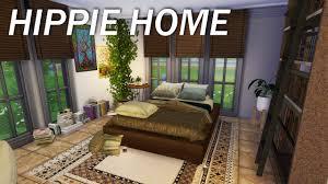 Hippie Interior Design Sims 4 One Room Hippie Home Youtube