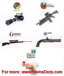 Meme Browser - internet browser gun meme
