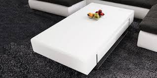 Wohnzimmertisch Crashglas Couchtisch Weiss Hochglanz Mit Schublade Tisch Design